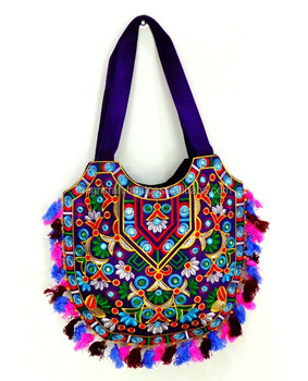 Boho Handbags Wholesale Indian Traditional Handmade Tote Bags