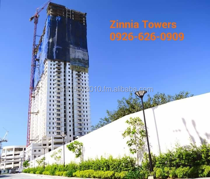 Condo In QUEZON CITY ZINNIA Towers Near SM North and Trinoma
