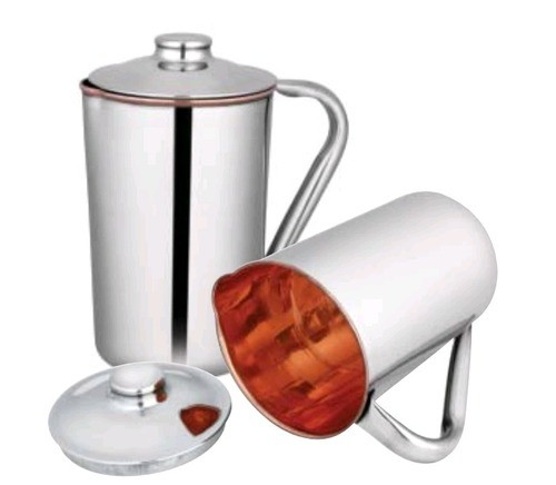 Double Copper Wide Mouth Copper Bislery Bottle Lining