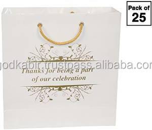 34fb3f60abb9 PREMIUM GIFT PAPER CARRY BAGS-GOLD PRINT FANCY DESIGN BAG Arrow Gifting  Paper Bag