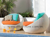 DL-C Best Selling 2015 Cheap comfortable rattan patio hanging swing chair furniture