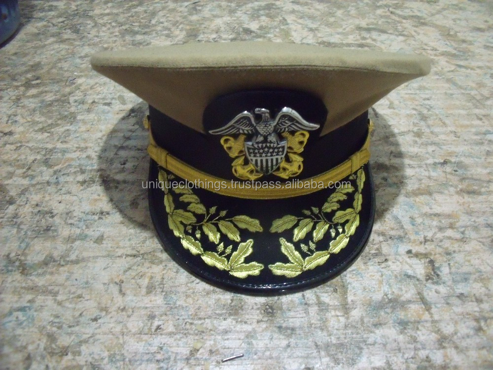 17dc046c164 Military Officer Peak Caps