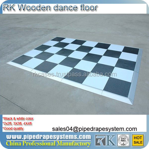 manufacture promotion Folding outdoor dance floor