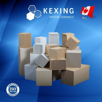 Honeycomb ceramic Monolith for RTO RCO, Heat Exchanger, Regenerator, Substrate, Catalyst Carrier, Structured Media