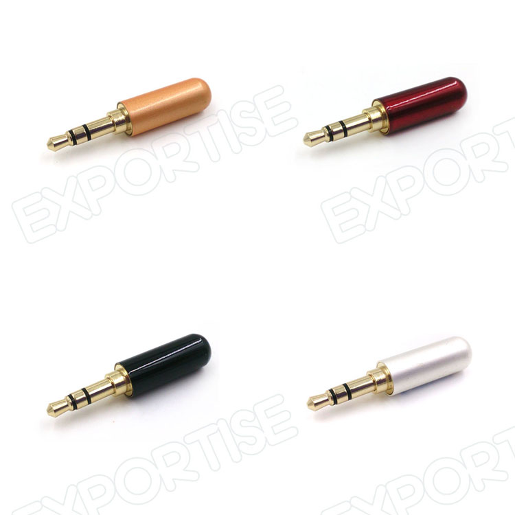 4 pole 3 5mm male headphone jack plug metal audio soldering & back 3 5mm Audio Jack Wiring 4 pole 3 5mm male headphone jack plug metal audio soldering & back cover 3.5 mm audio jack wiring