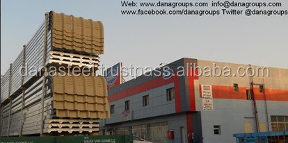 Roofing Insulated Sandwich Panel Supplier Muscat Seeb Salalah Oman- Dana  Steel - Buy Insulated Puf Panel Manufacturer,Polyurethane Board Panel