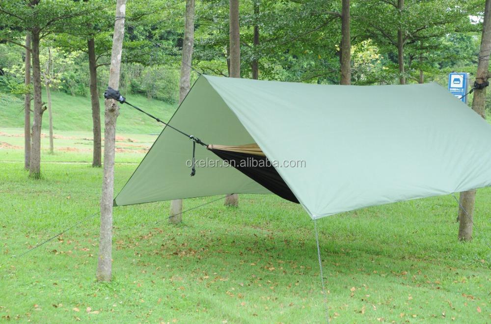 Outdoor Camping Hammock Canopy, Hammock Cover, Hammock Rain Fly