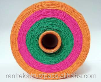 Regenertated Cotton Polyester Yarn
