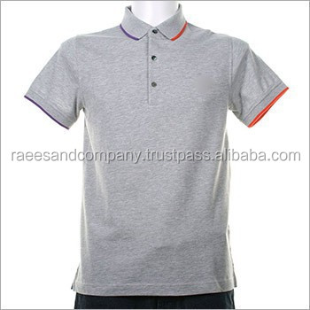 New Design Polo Shirt With Embroidery With Panel Wholesale Polo T
