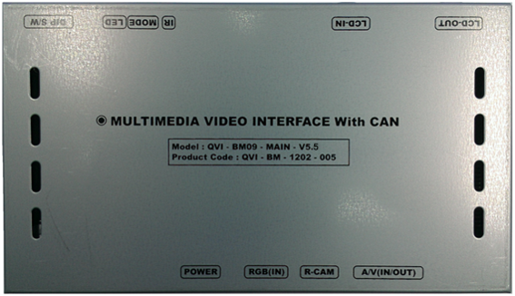QPI BM09 Interface
