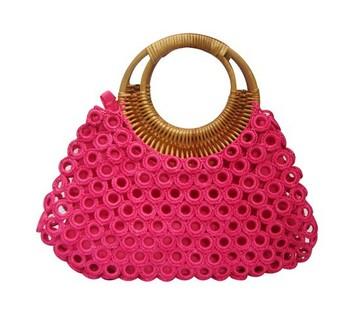 100% Handmade Crochet Fashion Designer Bags Handbags - Buy Crochet ... 90e78353bf9a4