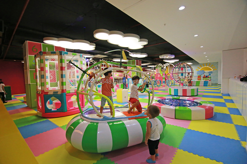 Soft Playgrounds Entertainment Parks Kids Indoor