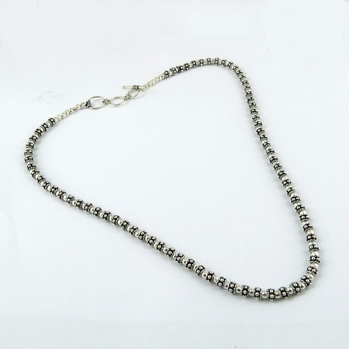Silver Rush Oxidized Silver 925 Sterling Silver Necklace, 925 Sterling Silver Jewelry, Silver Jewelry India