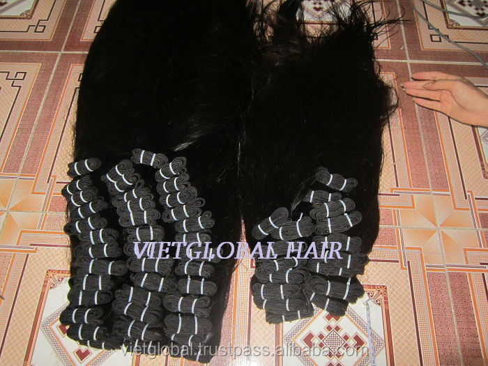 Top quality beautiful natural color weft hair from Vietglobalhair