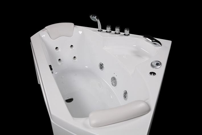 teak bathtub terrazzo bathtub spa whirlpool portable