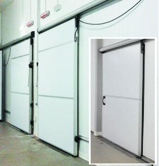 Schiebetüren Für Kühlräume, Kühlhäuser + 97156 5478106 Dubai Isolierten  Schiebetüren Für Spaziergang In Kühler Katar