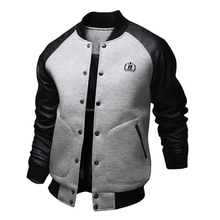 2016 man plain varsity jacket wholesale