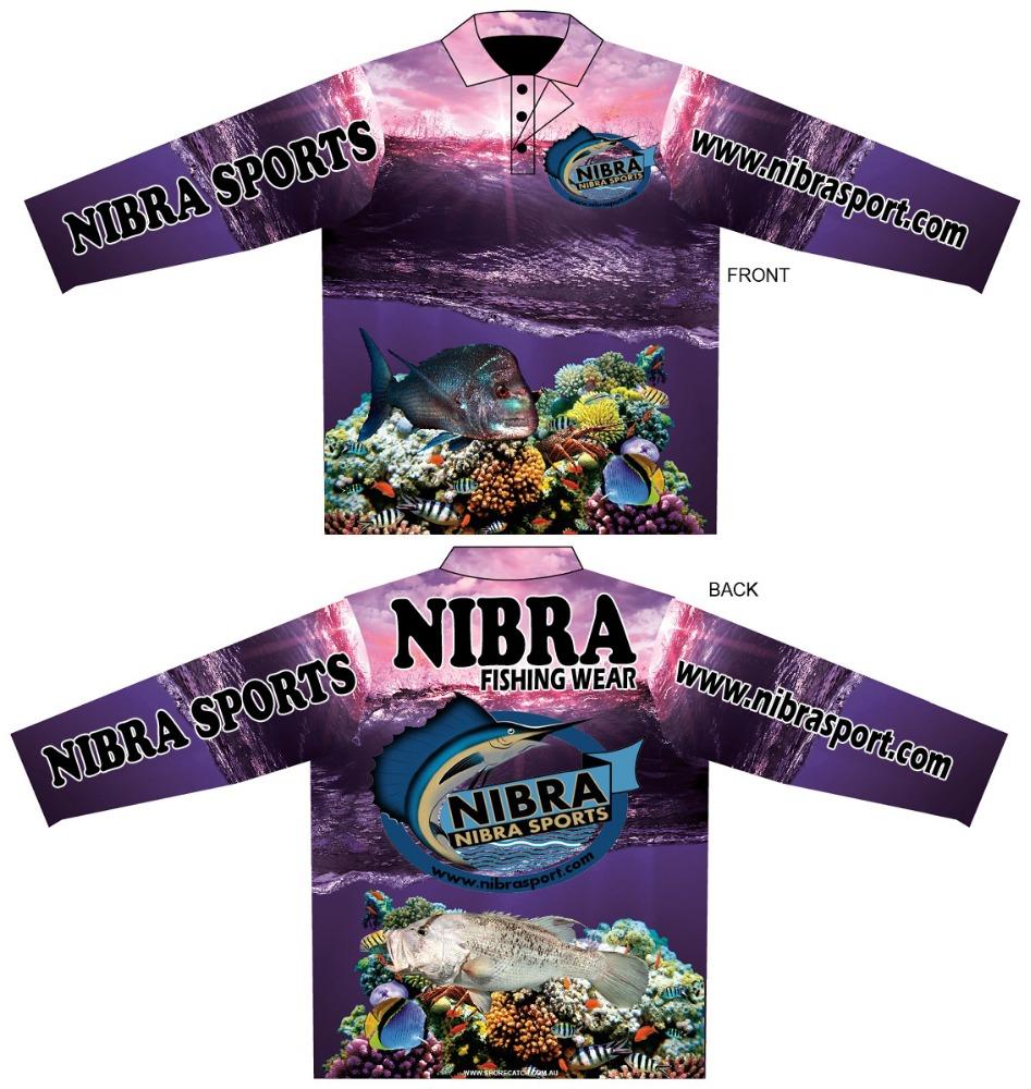 Custom Design Fishing Topsperformance Fishing Shirts Buy Long