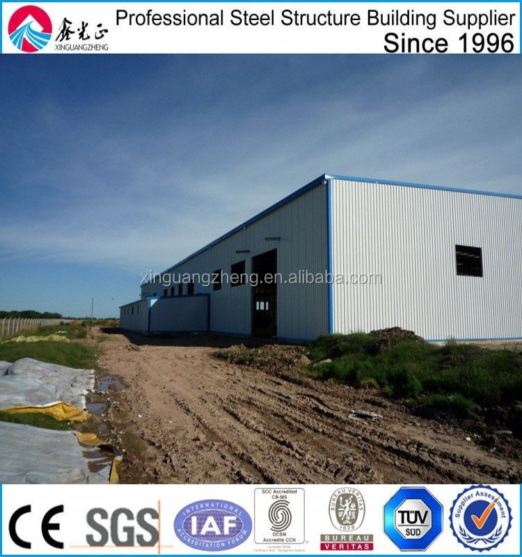 prefabricated steel structure warehouse kenya