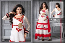 Bridal Long Bollywood Traditional Readymade Anarkali Suit Designer Straight Salwar Kameez