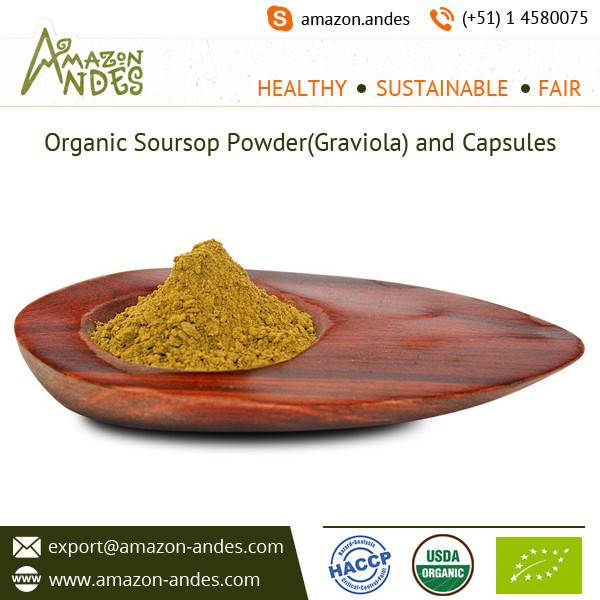 Graviola or Soursop Organic Leaf Powder Available in Bulk