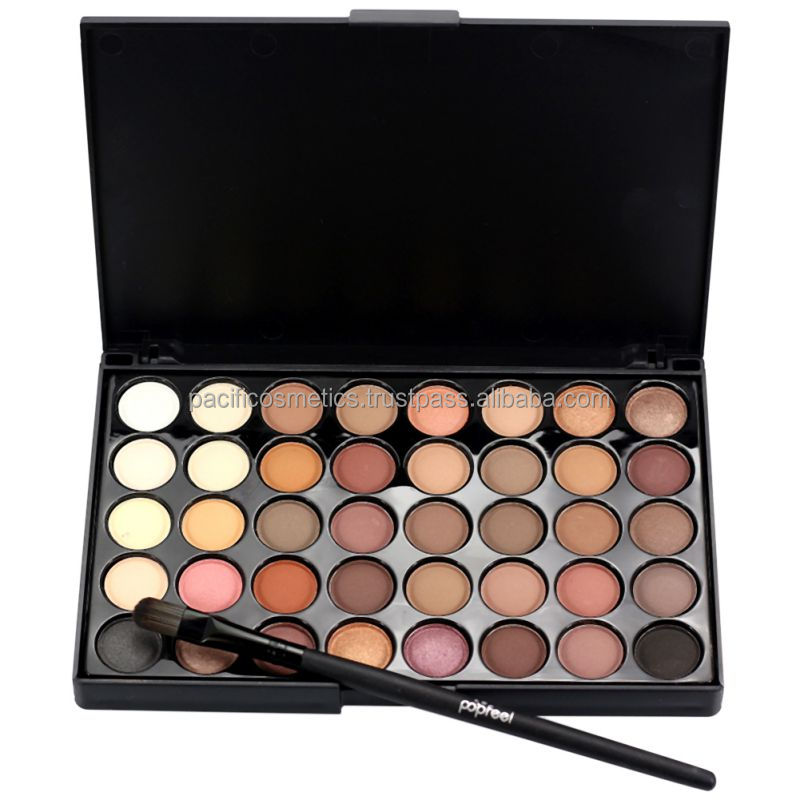 make up 40 Earth Colors Matte Pigment Eyeshadow Palette Cosmetic Makeup Eye Shadow
