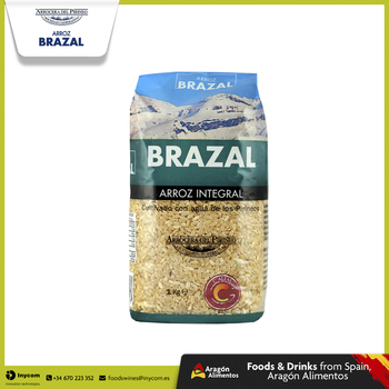 Brown Medium Grain Rice from Spain Wholesale | Arrocera del Pirineo