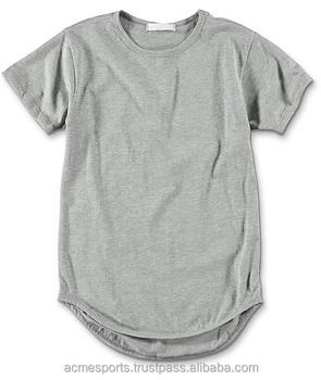 Elongated t shirts 2017 design big blank tall t shirts for Big and tall custom shirts
