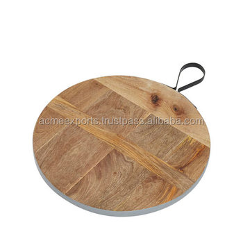 Indian Chopping Board With Metal Handle Easy To hang