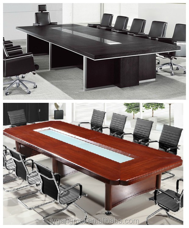 Luxury modular design wooden 10 person conference table for 10 person conference table