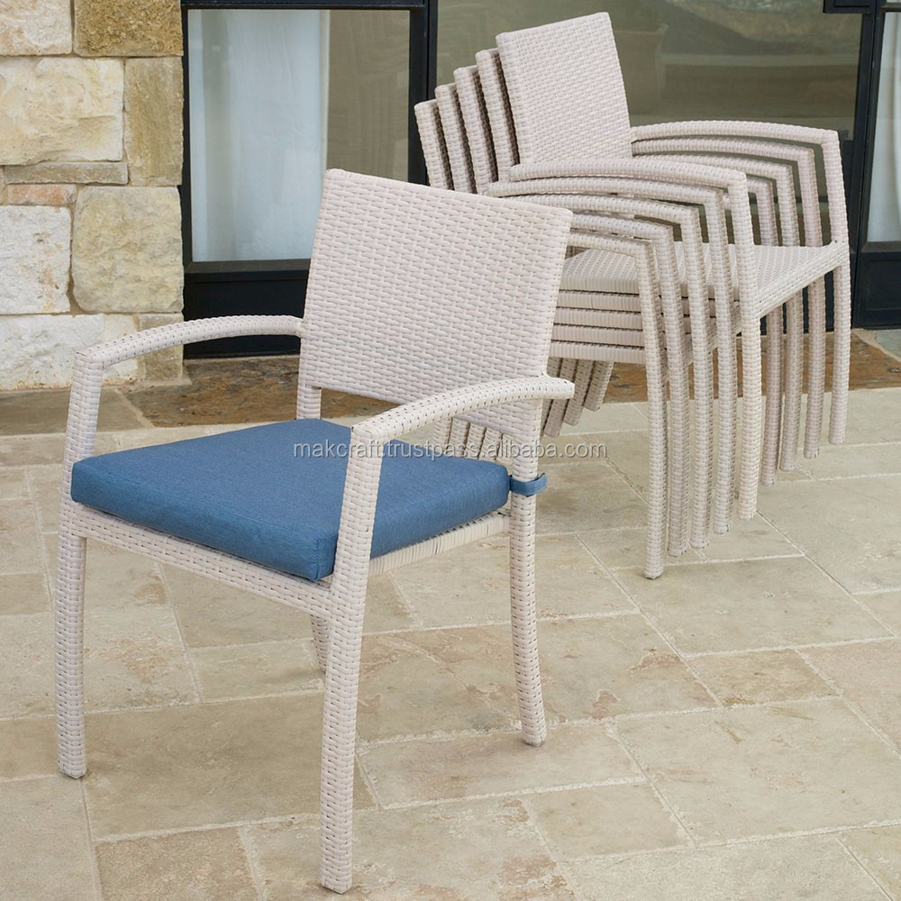 Best selling wicker rattan furniture outdoor dining set - Wicker Rattan outdoor folding dining chair Furniture