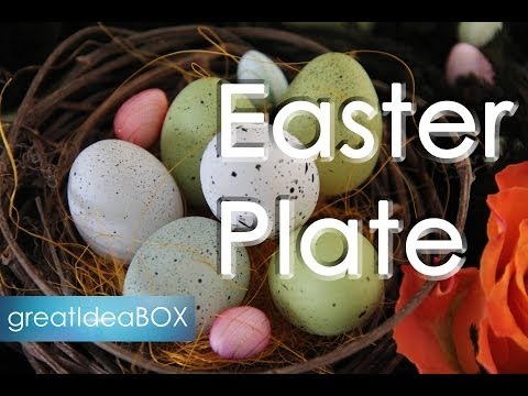 Cheap best easter gift ideas find best easter gift ideas deals on get quotations handmade gift ideas easter plate negle Images