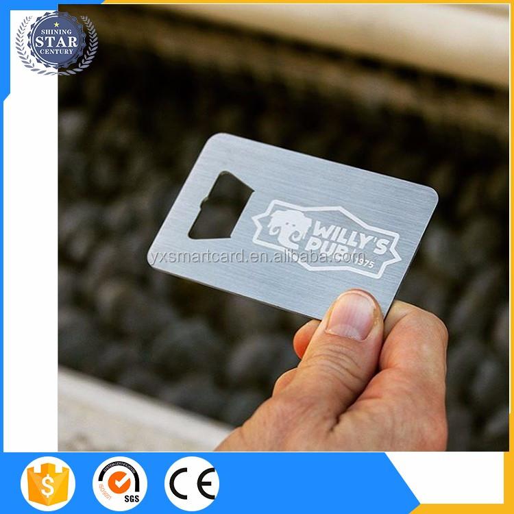 Custom logo credit card sized shape bottle openercustom metal custom logo credit card sized shape bottle opener custom metal business card bottle opener reheart Choice Image