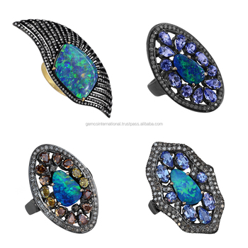 Opal Stone Jewelry Designer 14k Gold Gemstone Rings Buy 14k Gold