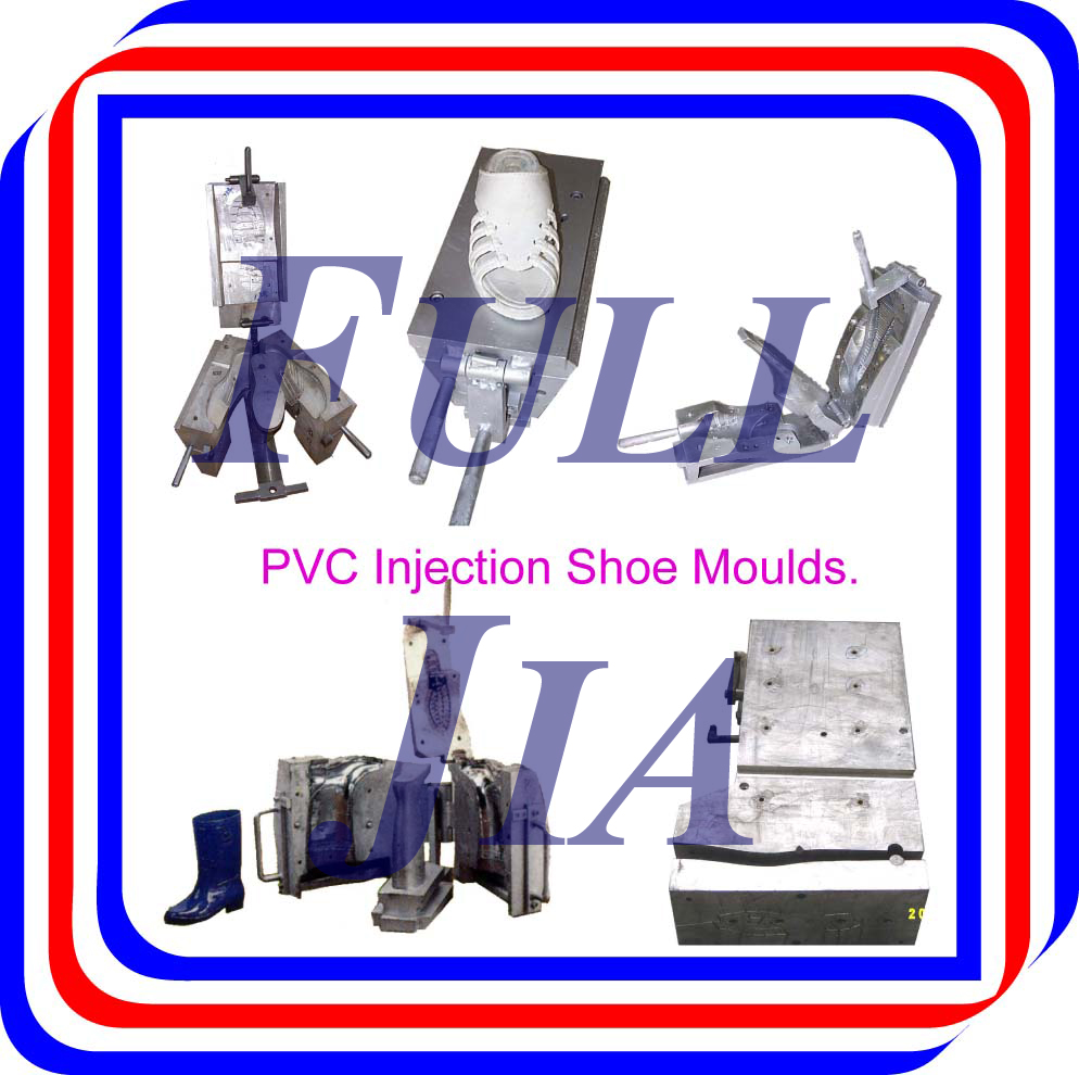 PVC Or Foaming Plastic Injection Shoe Moulds