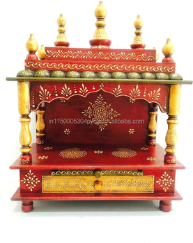 Du0027Dass Wooden Home Temple/home Temple/pooja Mandir/indian Temple/