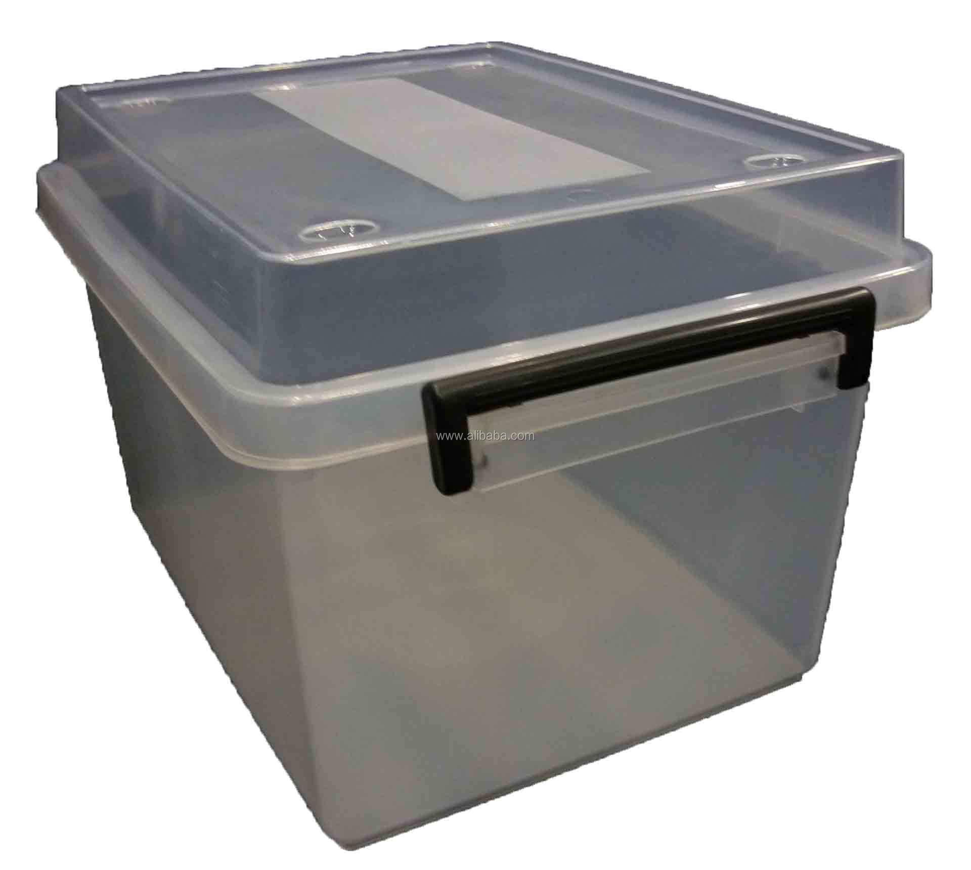 18lt Plastic Storage Box Boxes Tub Tubs Container