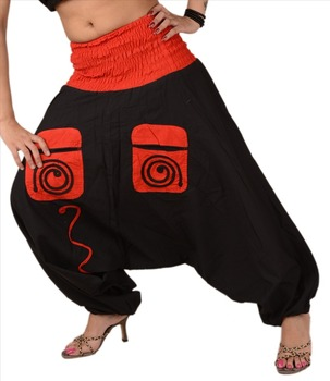 1b680930af5d Women New Jalebi Pant Cotton Pocket Elastic Jumpsuit Genie - Buy ...