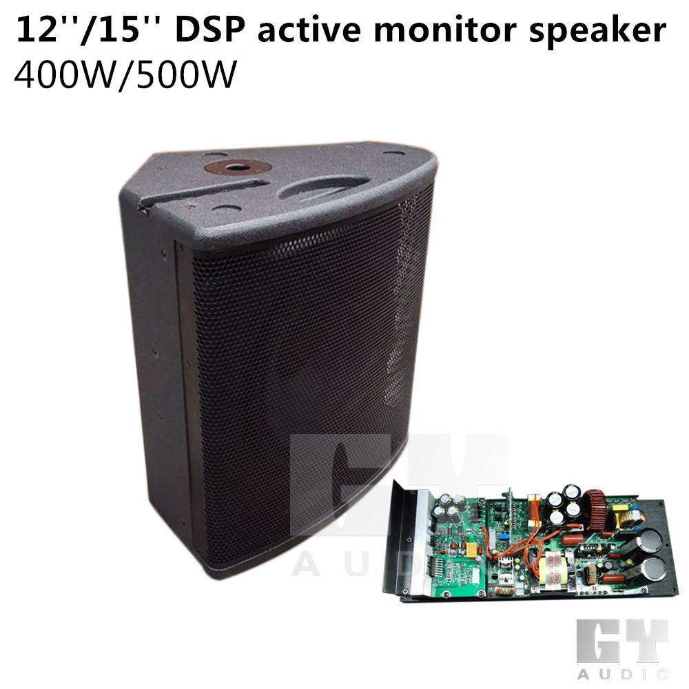 12'' DSP active stage monitor speaker