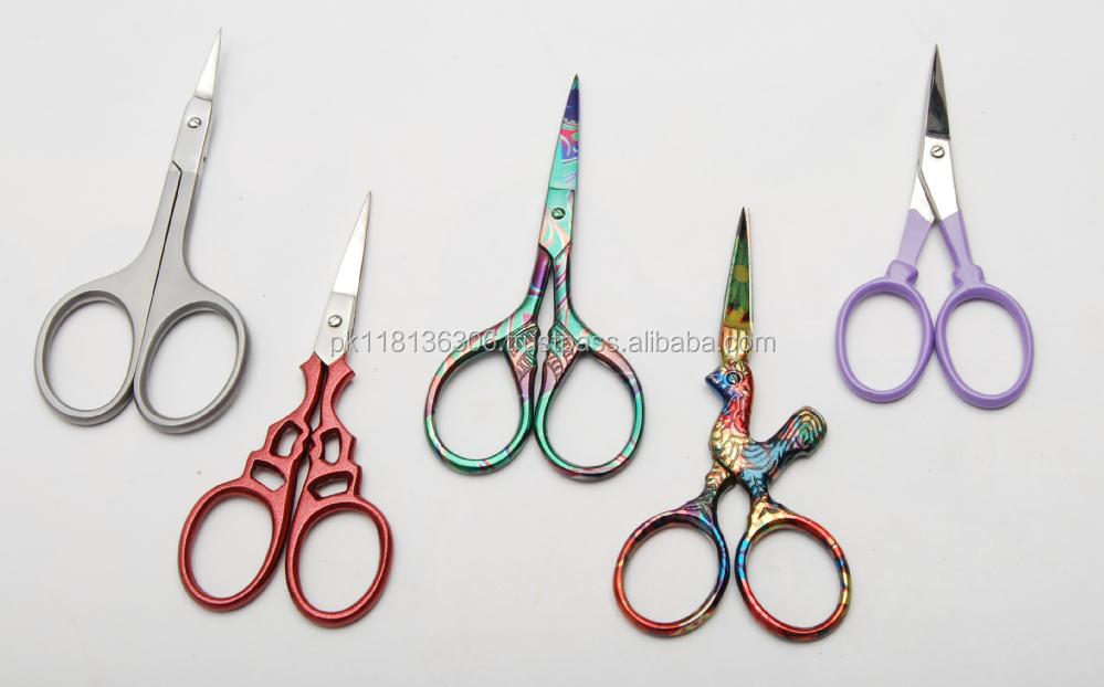Fancy Scissors / Embroidery Scissors /manicure / Colour Printes ...