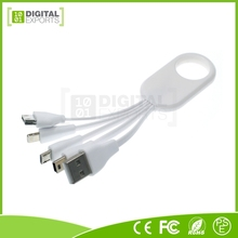 Hot selling unique oem custom high quality micro led 5pin micro usb cable