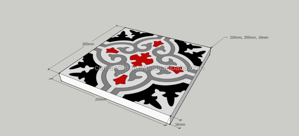 Cement tile molds high quality - Vietnam cement tile factory