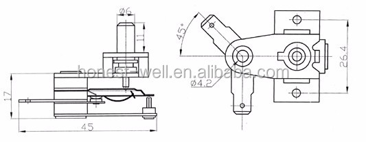 kst820-26 adjustable kst thermostat