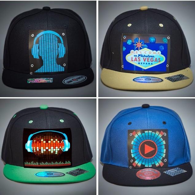 El Cap Wireless Custom Light Up El Hat Sound Activated