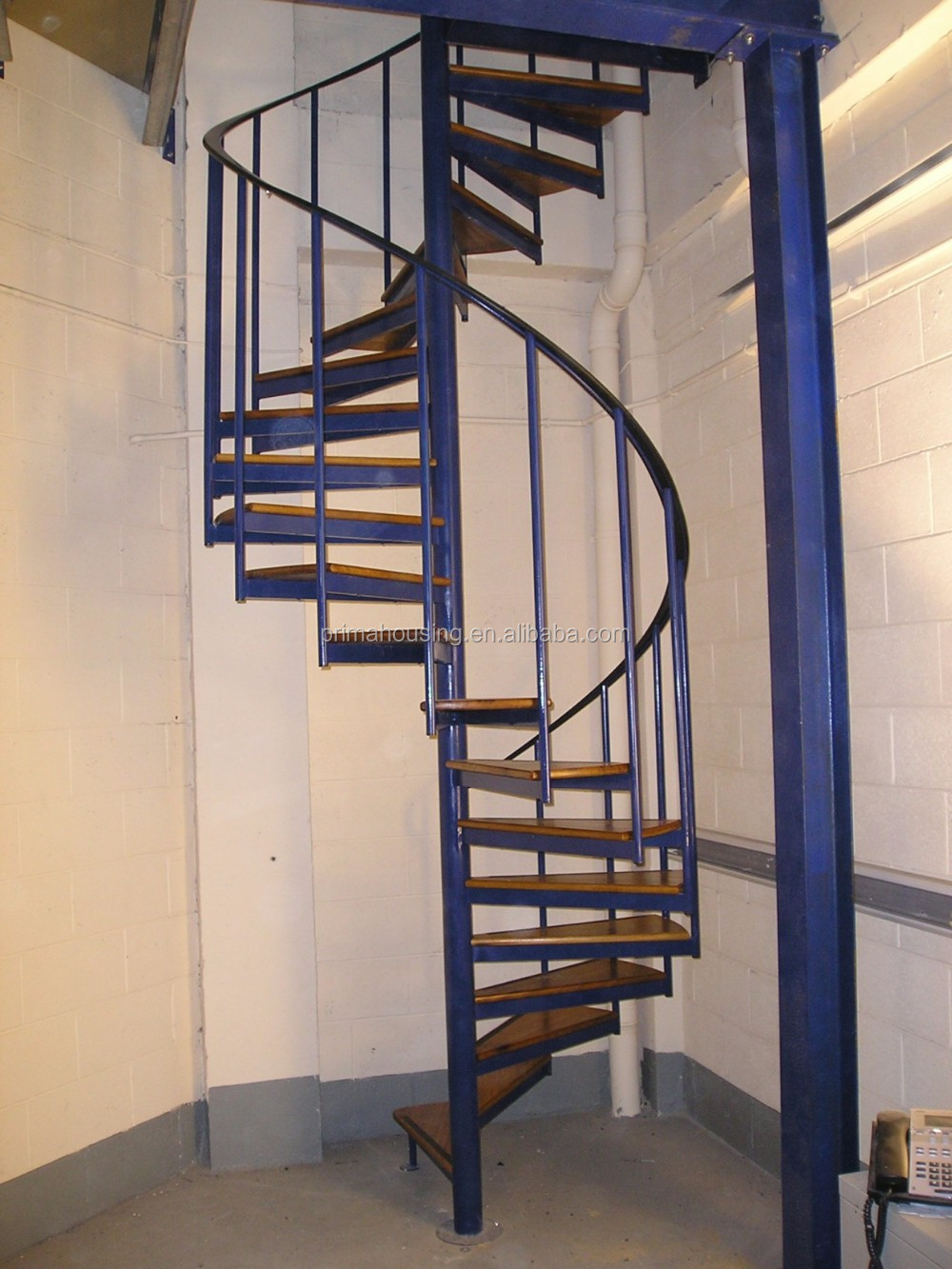 Low Cost Interior Spiral Stairs Design S Shaped Staircase