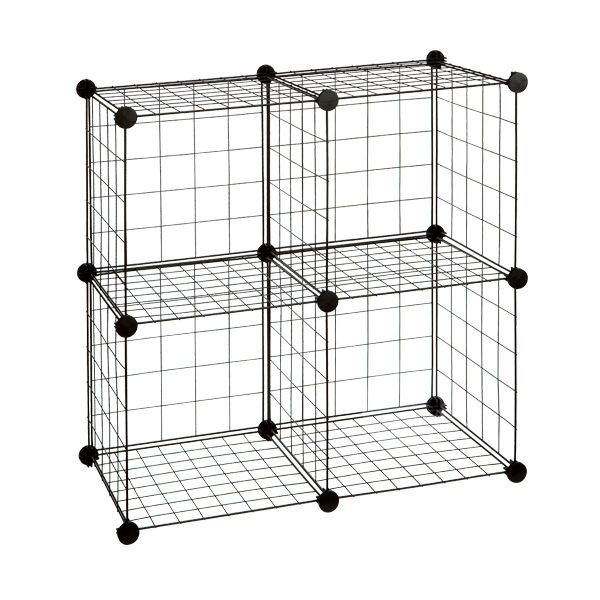 Whitmor Wire Storage Cubes Set 6 - QVC