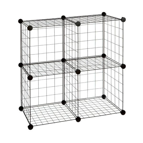 Modular Mesh Metal Storage Cube