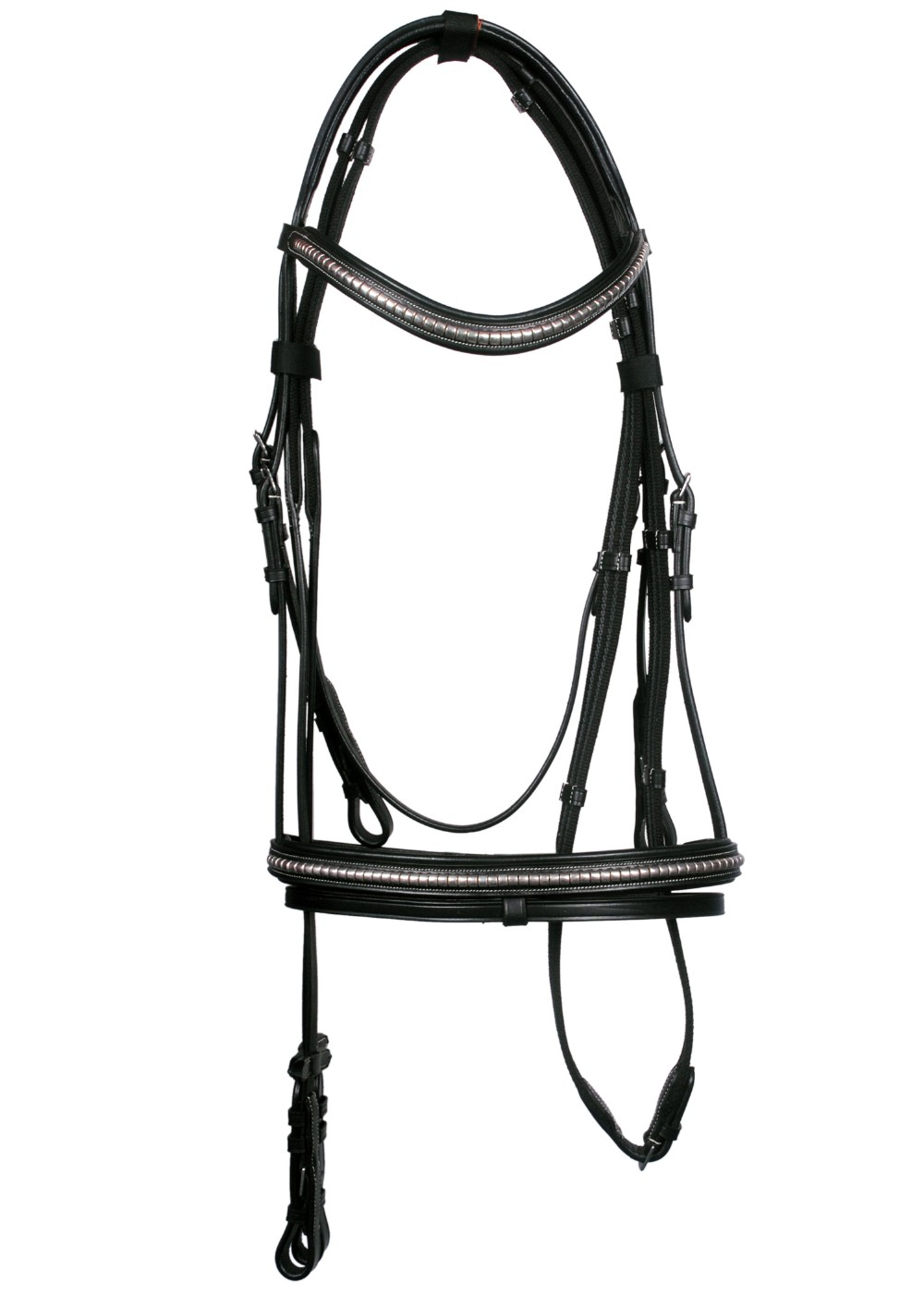 Wholesale Adjustable and Comfortable Rhinestone Decorative Horse Bridle