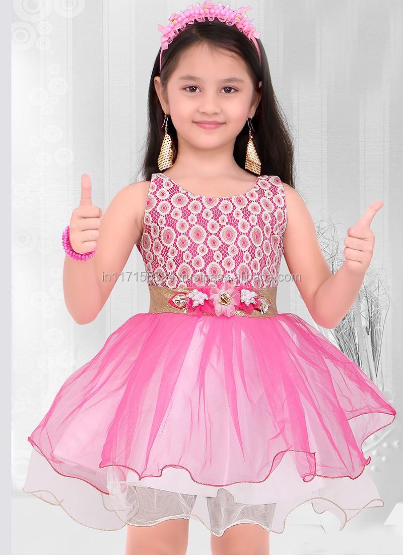 Indian Designer Party Wear Frocks Design -short Frock Dress - Baby ...