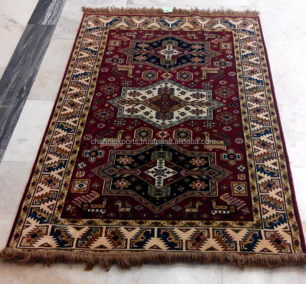 Beautiful Hand Knotted Handmade Carpet Camel Wool From Jaipur India Rugs And Silk Indian